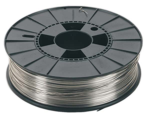 Sealey - MIG/5K/SS08  Stainless Steel MIG Wire 5kg 0.8mm 308(S)93 Grade