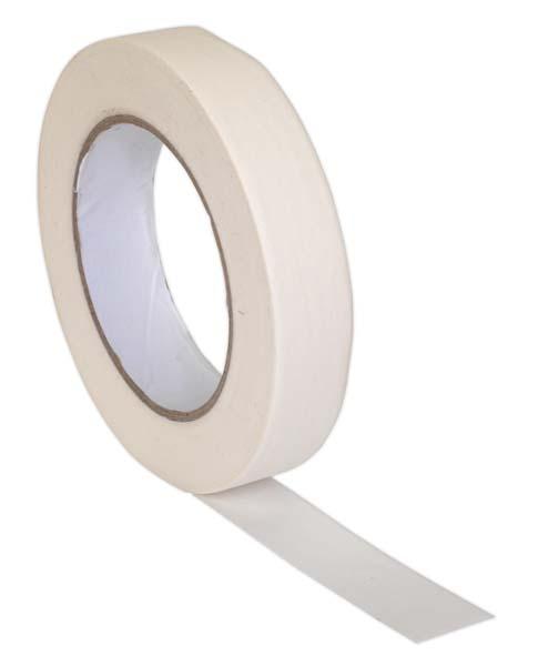 Sealey - MTG24  Masking Tape General Purpose 24mm x 50mtr 60