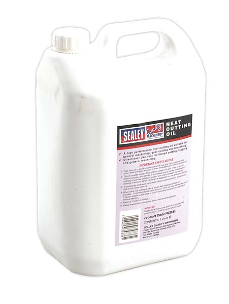 Sealey - NCO/5L  Neat Cutting Oil 5ltr