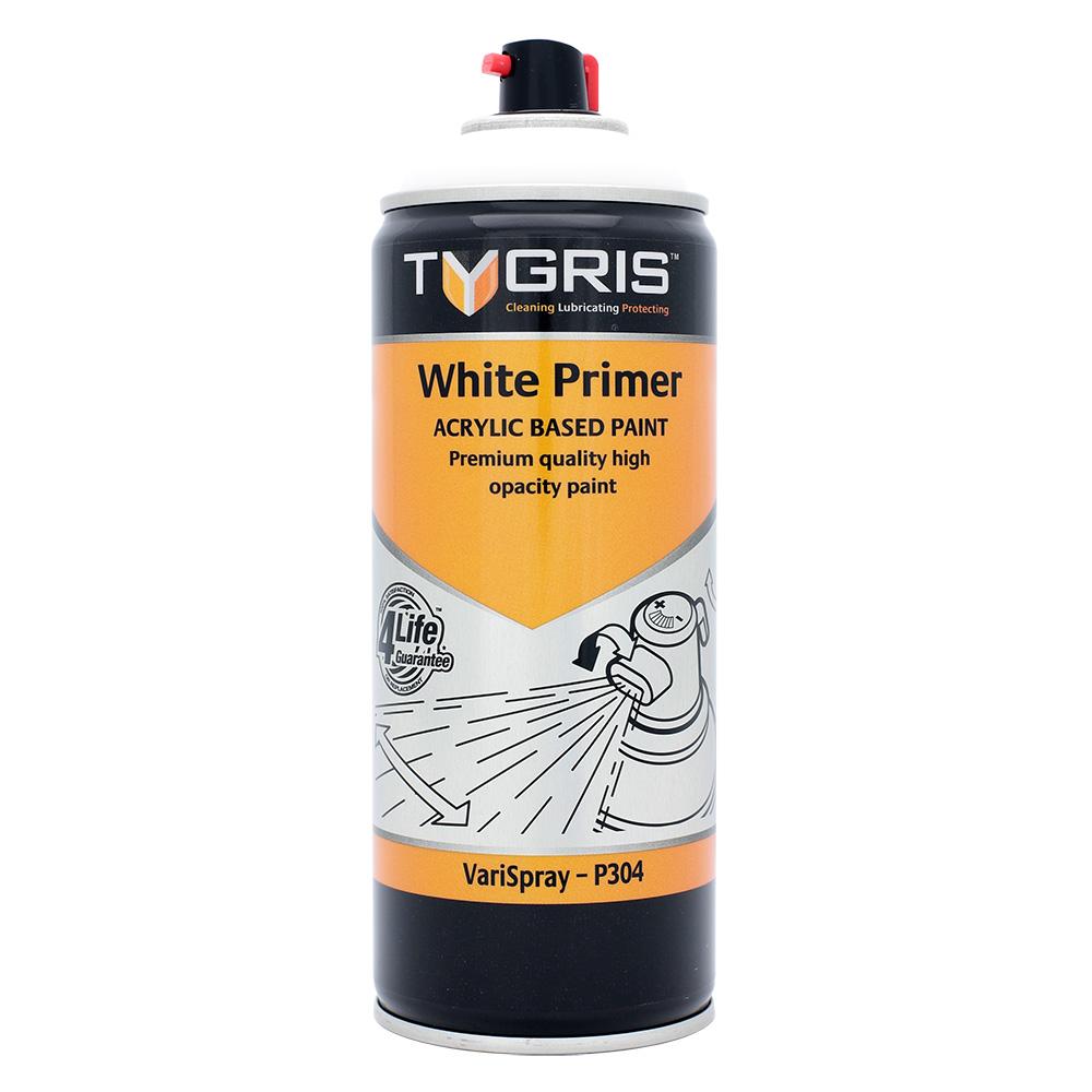 TYGRIS White Primer Paint - 400 ml P304