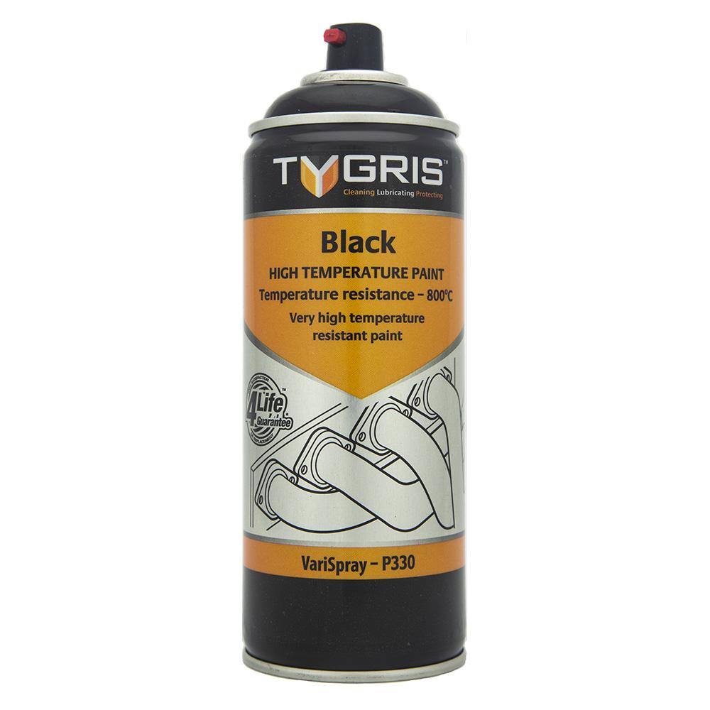 TYGRIS Black High Temperature Paint - 400 ml P330