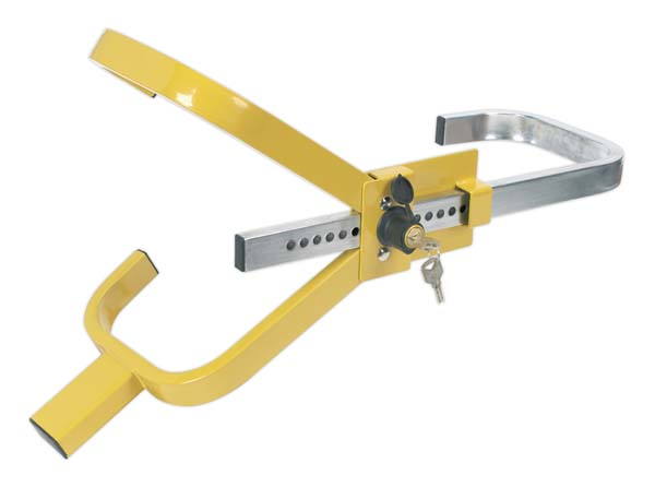 Sealey - PB396  Wheel Clamp with Lock & Key