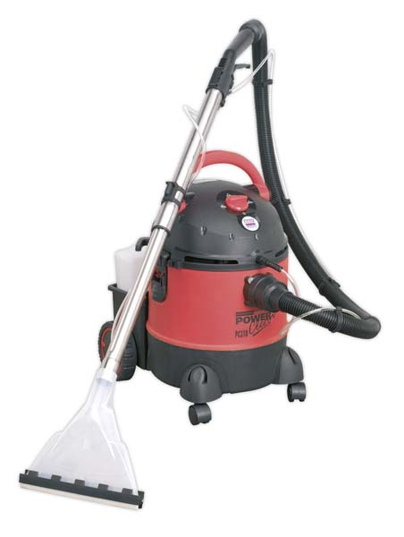 Sealey - PC310  Valeting Machine Wet & Dry with Accessories 20ltr 1250W/230V