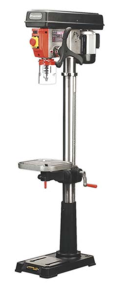 Sealey - PDM210F  Pillar Drill Floor 16-Speed 1610mm Height 230V