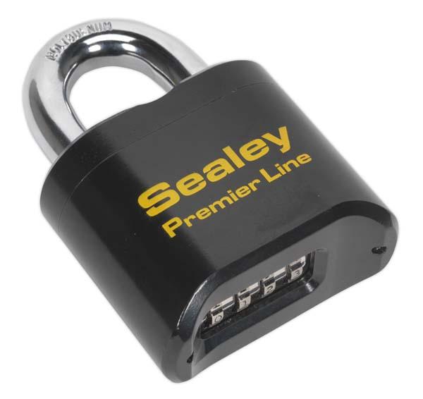 Sealey - PL603  Steel Body Combination Padlock 62mm