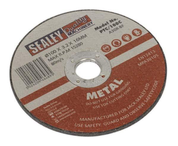 Sealey - PTC/100C  Cutting Disc