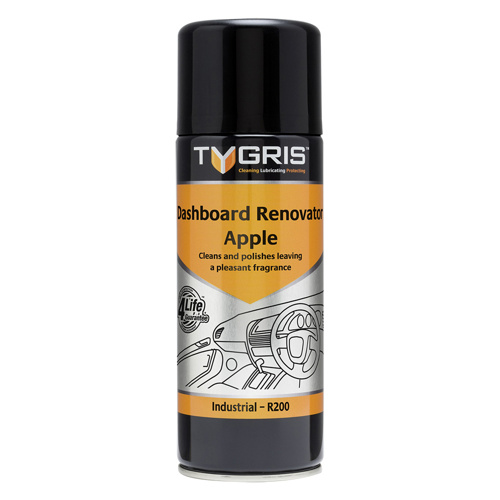 TYGRIS  R200  Dashboard Renovator - Apple  400ml Aerosol