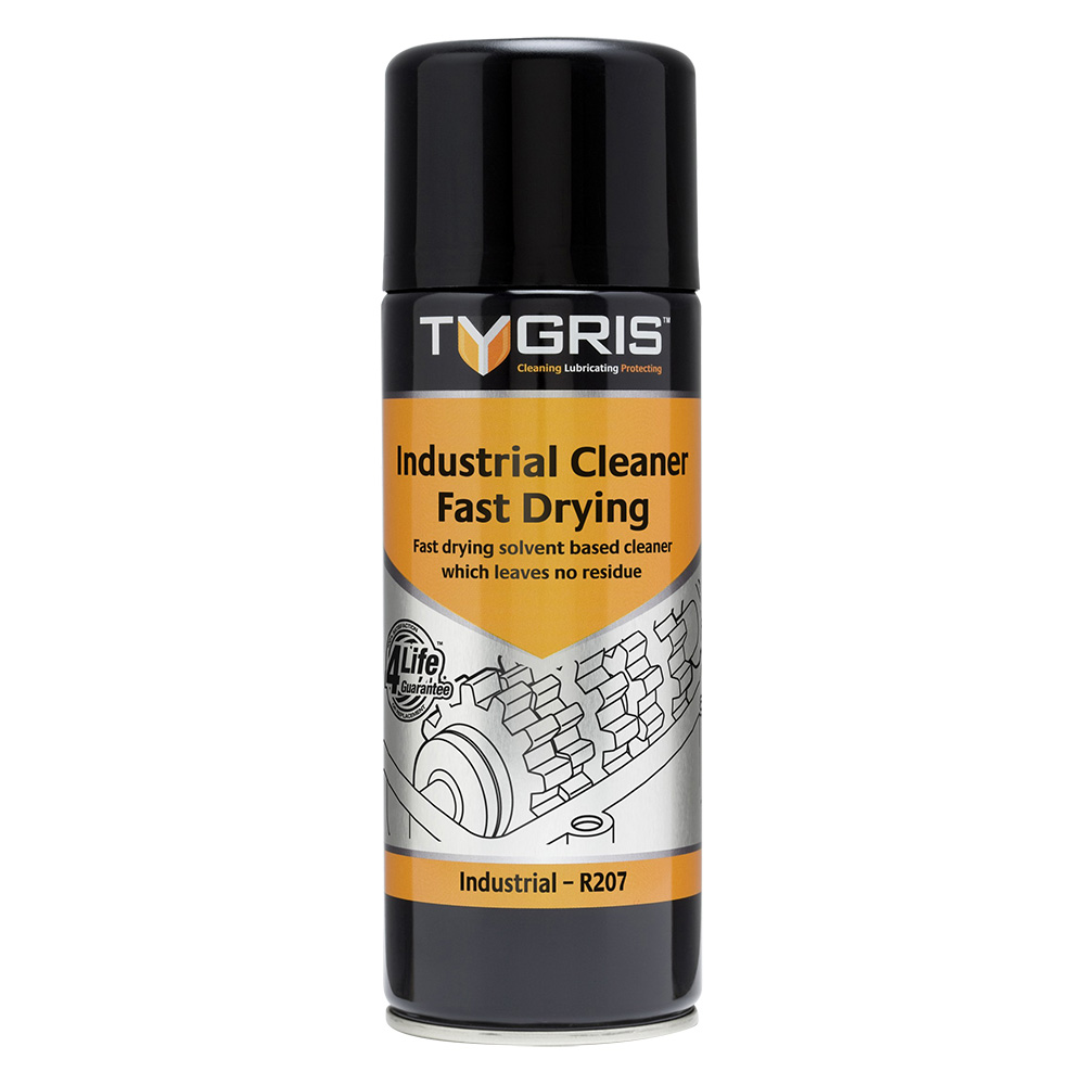 TYGRIS Industrial Cleaner (Fast Drying) - 400 ml R207