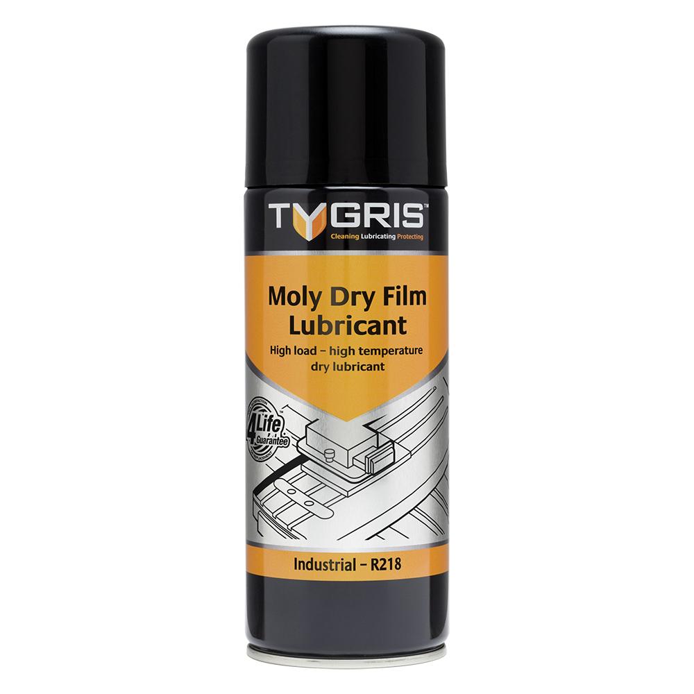 TYGRIS  R218  Moly Dry Film Lubricant  400ml Aerosol