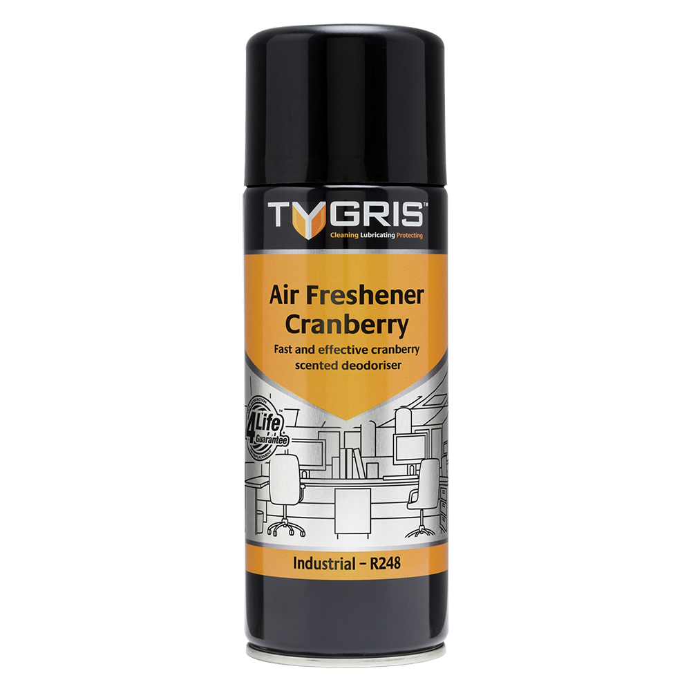 TYGRIS  R248  Air Freshener - Cranberry  400ml Aerosol