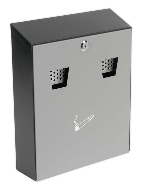 Sealey - RCB01  Cigarette Bin Wall Mounting
