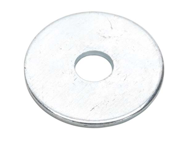 Sealey - RW625  Repair Washer M6 x 25mm Zinc Plated Pack of 100