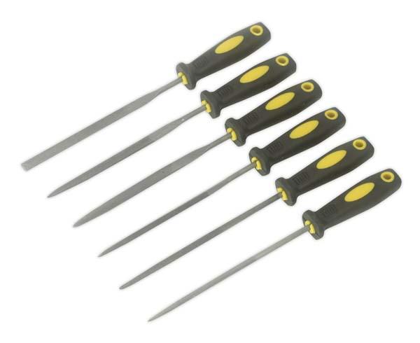 Sealey - S0628  Needle File Set 6pc 100mm