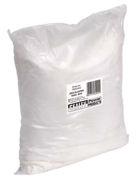 Sealey - SBG25KG  Blasting Soda 25kg Bag