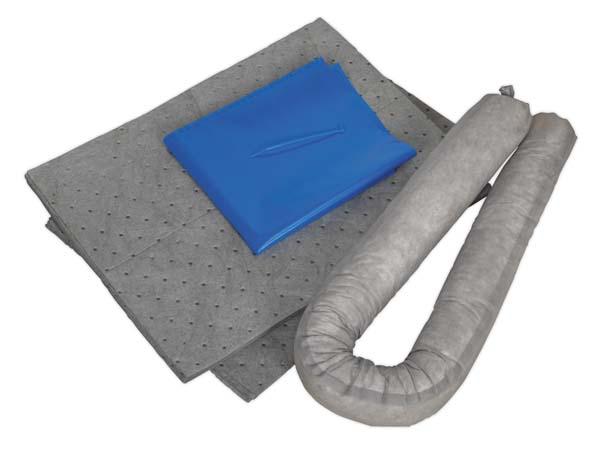 Sealey - SCK15  Spill Control Kit 15ltr