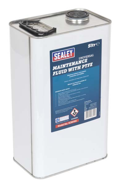 Sealey - SCS0105  Universal Maintenance Fluid with PTFE 5ltr
