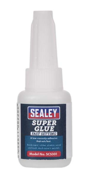 Sealey - SCS301  Super Glue Fast Setting 5g