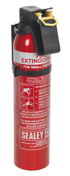 Sealey - SDPE009D  Fire Extinguisher 0.95kg Dry Powder - Disposable