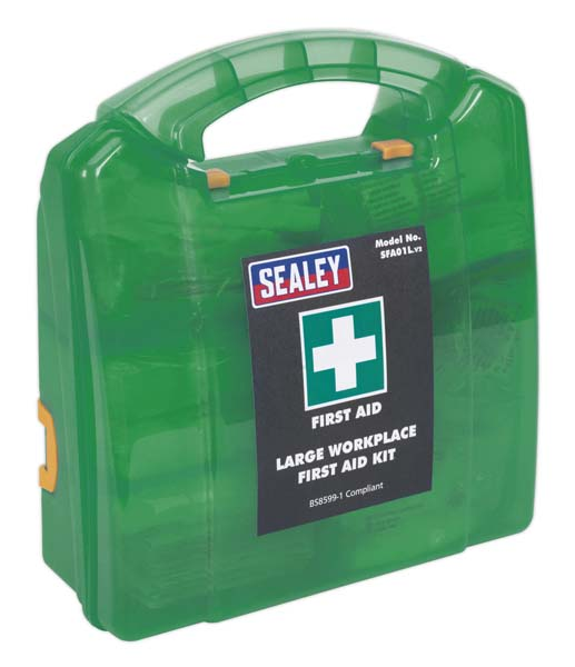 Sealey - SFA01L  First Aid Kit Large - BS 8599-1 Compliant