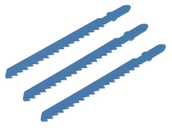 Sealey - SJS700B06  Jigsaw Blade 6tpi Pack of 3