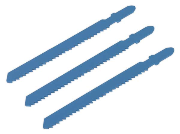 Sealey - SJS700B12  Jigsaw Blade 12tpi for Metal Pack of 3