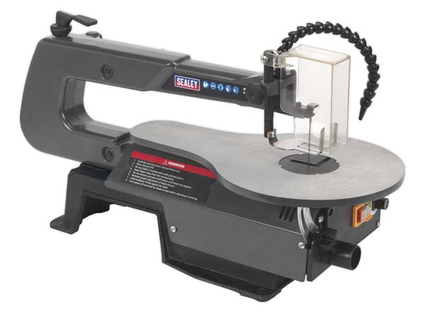 Sealey - SM1302  Variable Speed Scroll Saw 406mm Throat 230V