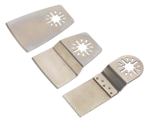 Sealey - SMTA1  Multi-Tool Blade Set 3pc