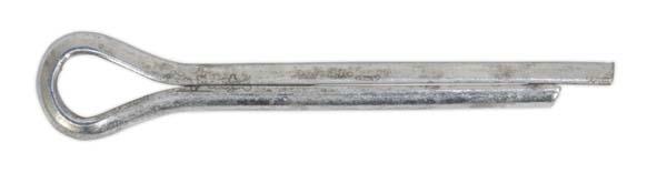 Sealey - SPI107  Split Pin 4 x 41mm Pack of 100