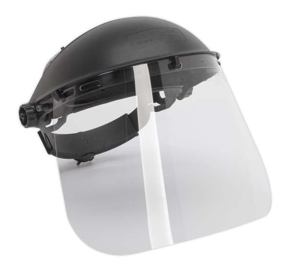Sealey - SSP11  Brow Guard & Full Face Shield Deluxe BS EN 166/B39
