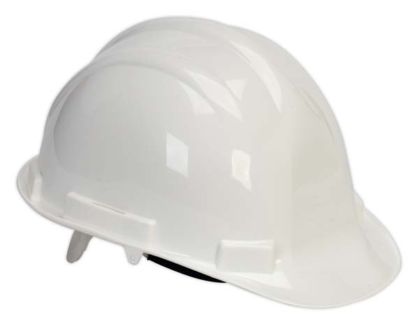 Sealey - SSP17W  Safety Helmet White BS EN 397