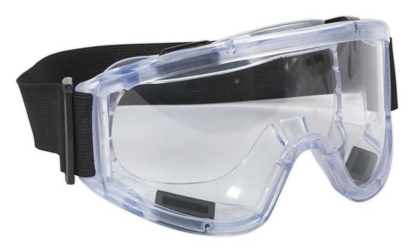 Sealey - SSP2  Safety Goggles Indirect Vent BS EN 166