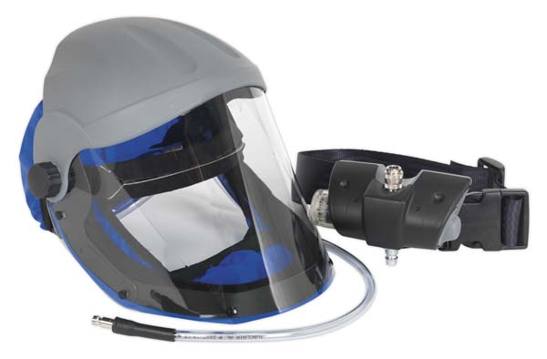 Sealey - SSP201  Air Fed Breathing Mask with Waist Belt Assembly