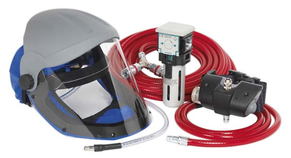 Sealey - SSP201K  Air Fed Breathing Mask Complete Kit