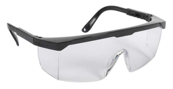 Sealey - SSP28  Safety Spectacles - Clear Lens