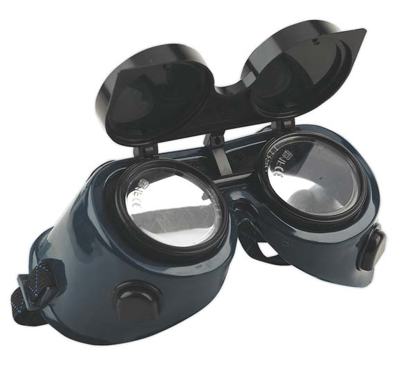 Sealey - SSP6  Gas Welding Goggles with Flip-Up Lenses
