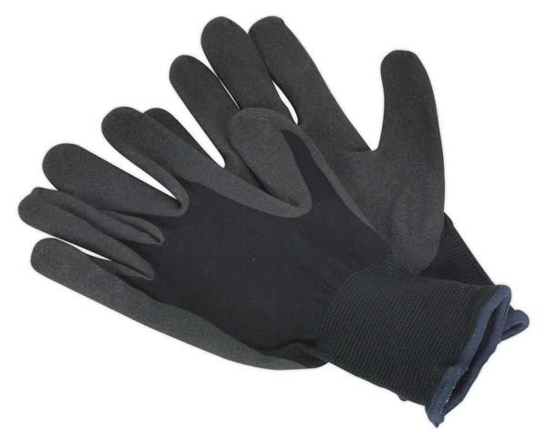Sealey - SSP62XL  Nitrile Foam Palm Gloves - X-Large