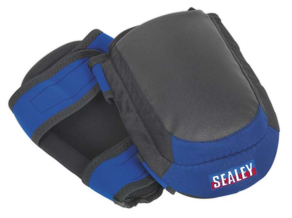 Sealey - SSP63  Heavy-Duty Double Gel Knee Pads - Pair