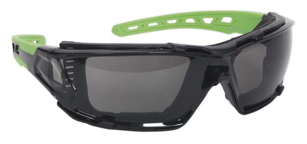 Sealey - SSP69  Safety Spectacles with EVA Foam Lining - Anti-Glare Lens