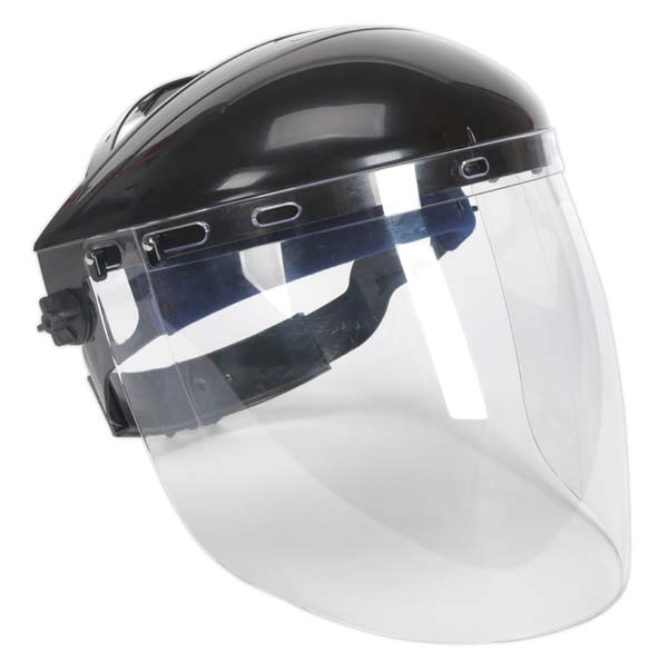 Sealey - SSP78  Deluxe Browguard with Aspherical Polycarbonate Full Face Shield