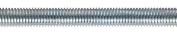 Sealey - STUD10  Studding M10 x 1mtr Zinc DIN 975 Pack of 5