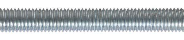 Sealey - STUD12  Studding M12 x 1mtr Zinc DIN 975 Pack of 5