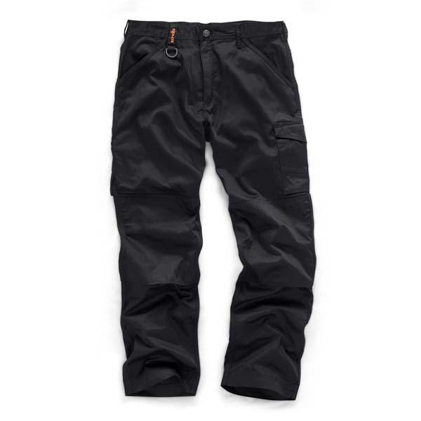 Scruffs Black Worker Trouser 30R