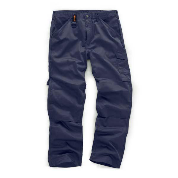 Scruffs Navy Worker Trouser 30R