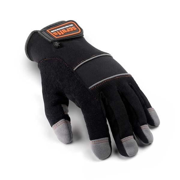 Scruffs Max Performance Full Finger Gloves Black