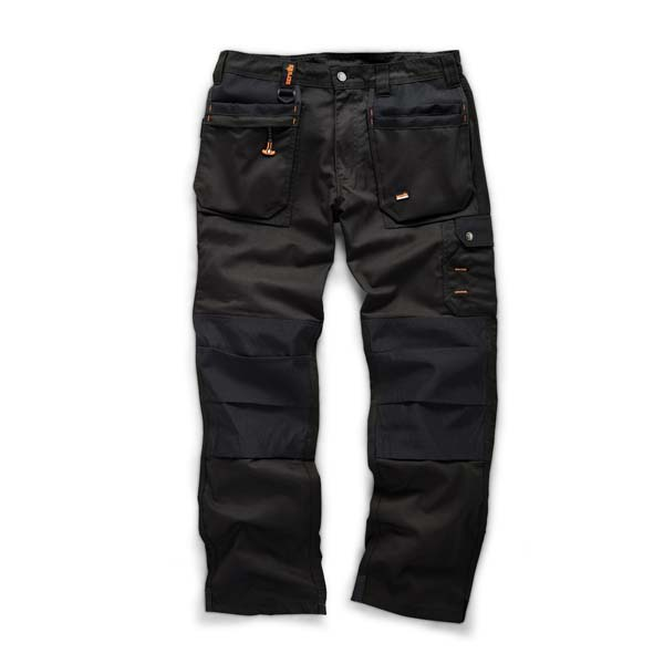 Scruffs Black Worker Plus Trouser 28S