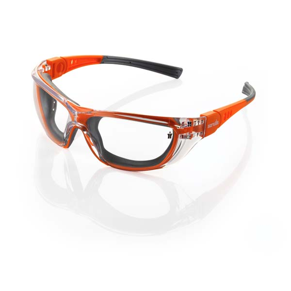 Scruffs Falcon Safety Orange and Grey Specs