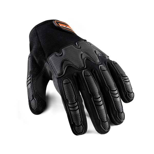 Scruffs Silicone Coated Gloves Black Sz XL