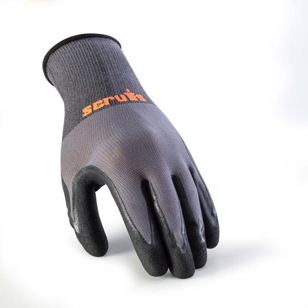 Scruffs Worker Gloves 5 Pack L
