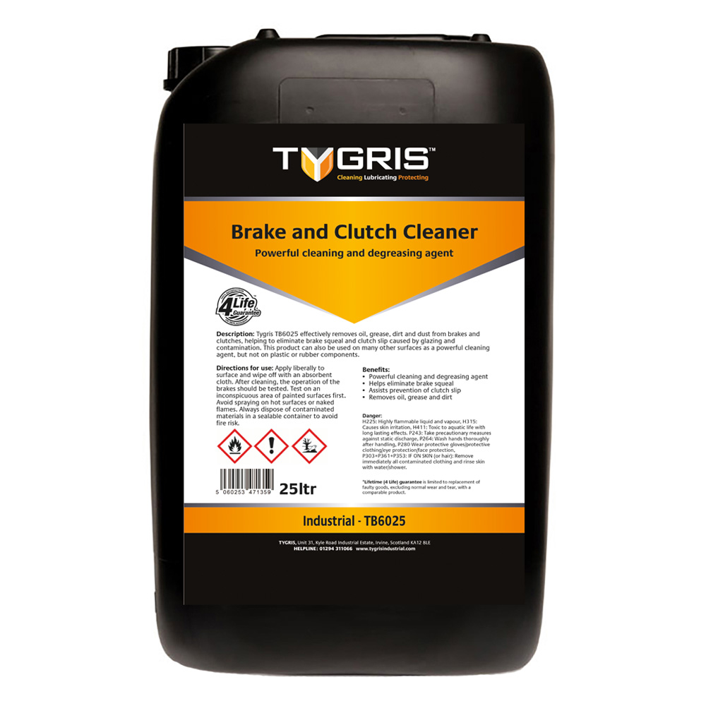 TYGRIS Brake & Clutch Cleaner - 25 Litre TB6025