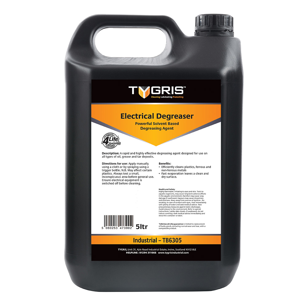 TYGRIS Electrical Degreaser - 5 Litre TB6305